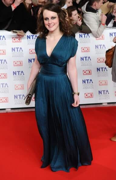Sophie McShera long dress pic