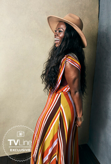 Yetide Badaki awesome photos (2)