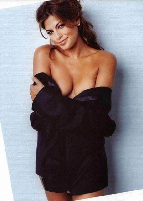 eva mendes hot cleavage pics