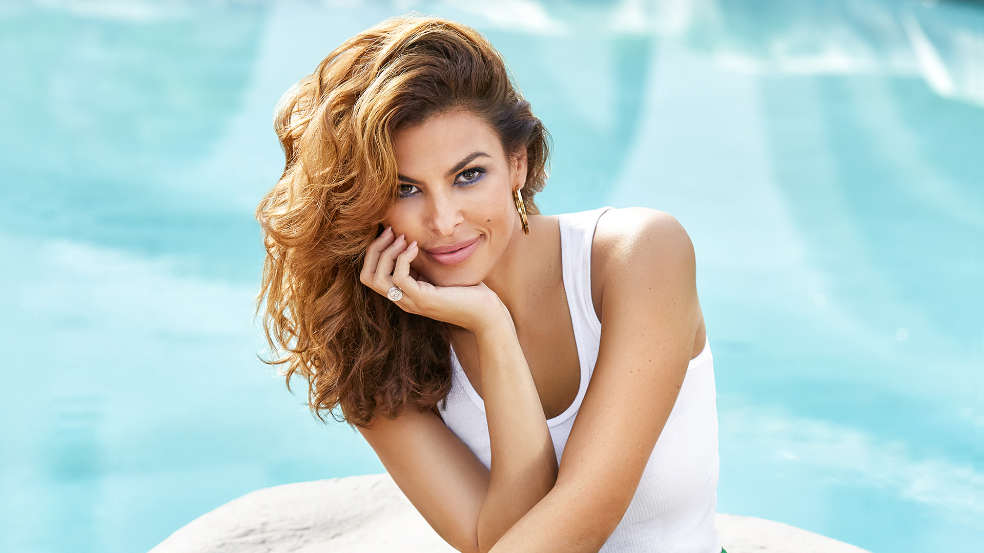 Eva Mendes from the 2017 cover of SHAPE magazine