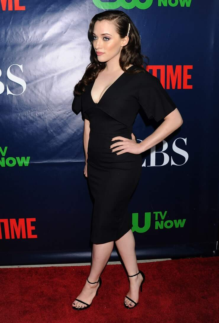 kat dennings sexy side look