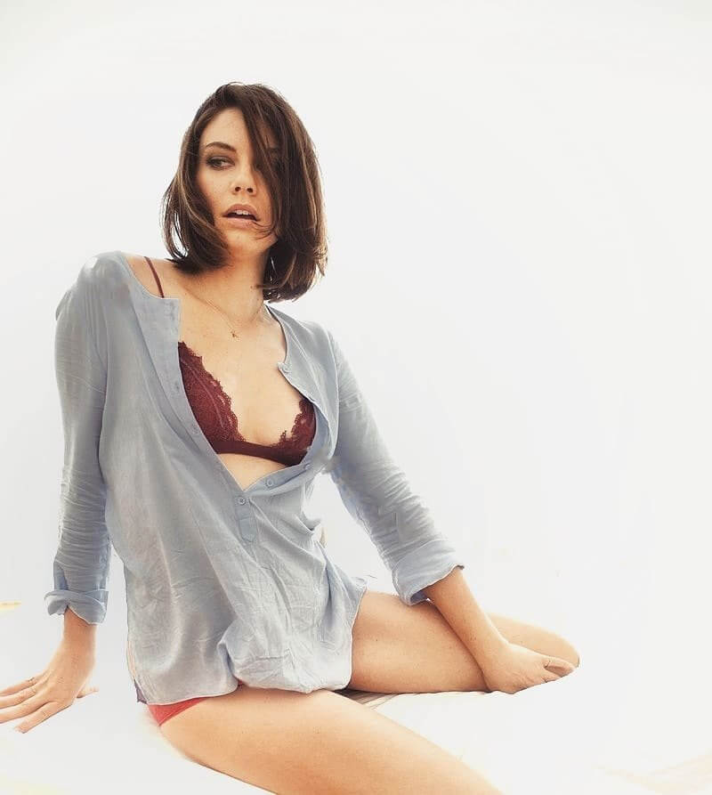 lauren cohan hot look