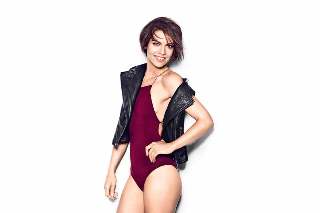 lauren cohan sexy look