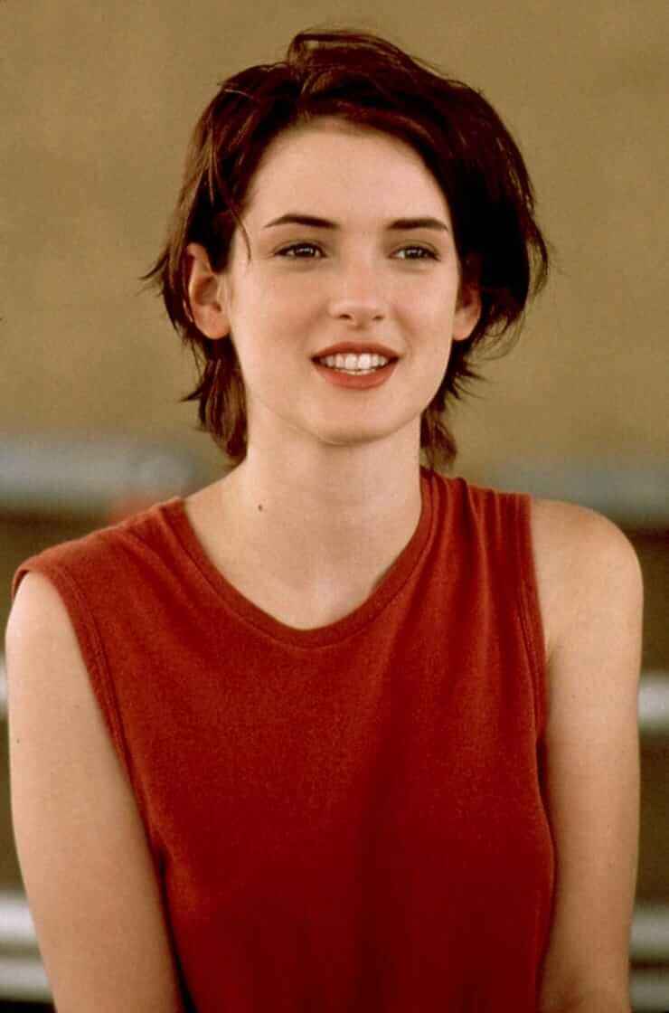 winona ryder young