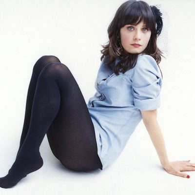 zooey deschanel hot thigh