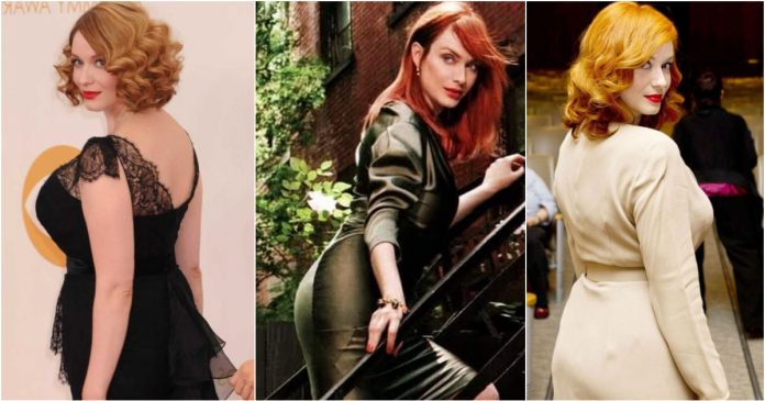 49 Hottest Christina Hendricks Big Butt Pictures Which Are Stunningly Ravishing (2)