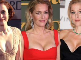 49 Sexy Gillian Anderson Boobs Pictures Reveal Her Majestic Melons To The World