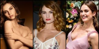 49 Sexy Lily James Boobs Pictures Which Will Get You All Sweating