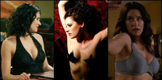 49 Sexy Paget Brewster Boobs Pictures Are Showcasing Her Busty Figure And Curvy Tits