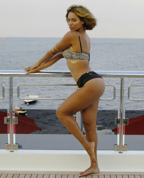 Beyonce booty hot