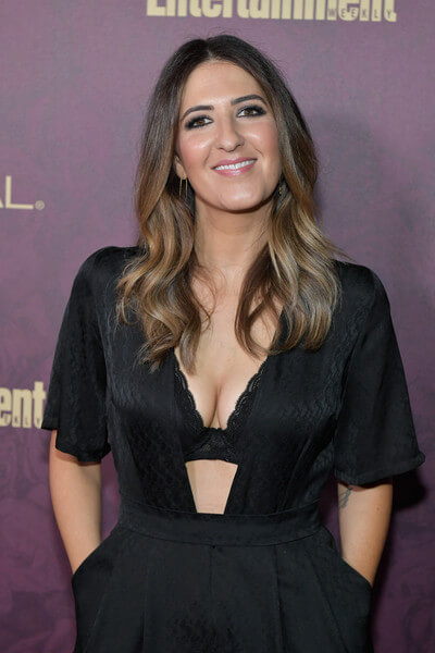 D'Arcy Carden sexy cleavage pics