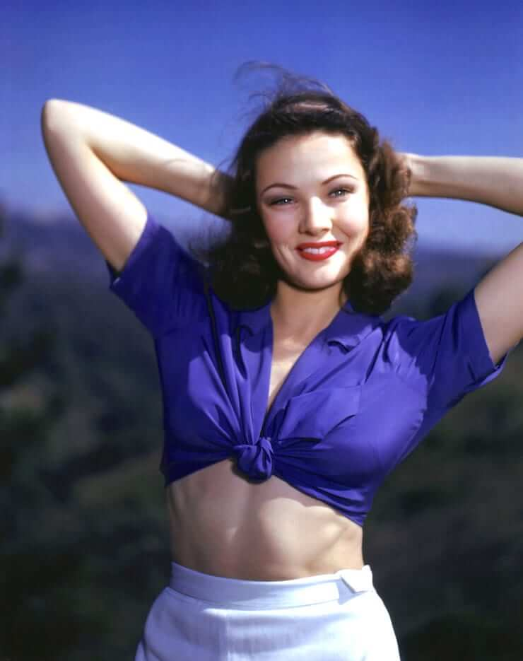 Gene Tierney hot boobs pictures (4)
