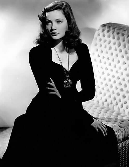 Gene Tierney hot looks pic (4)