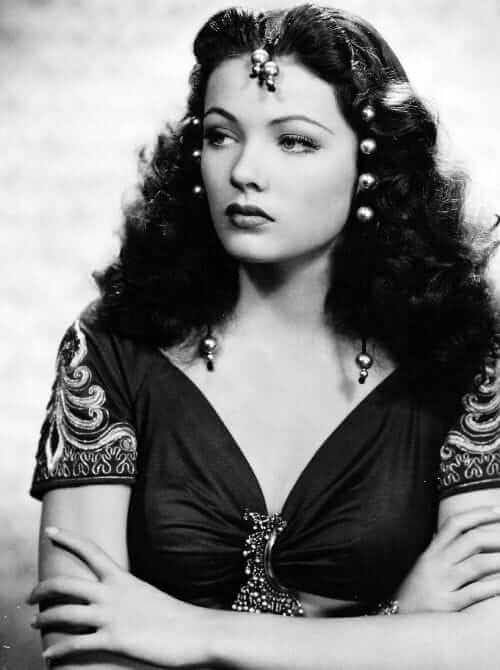 Gene Tierney hot looks pic (5)