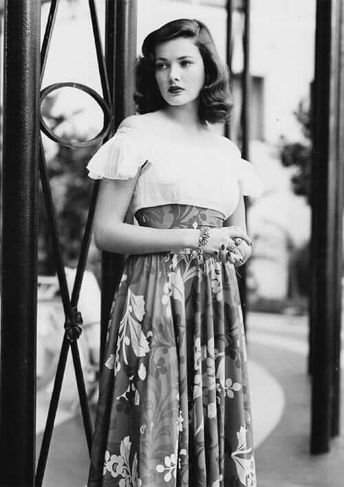 Gene Tierney hot looks pic (6)