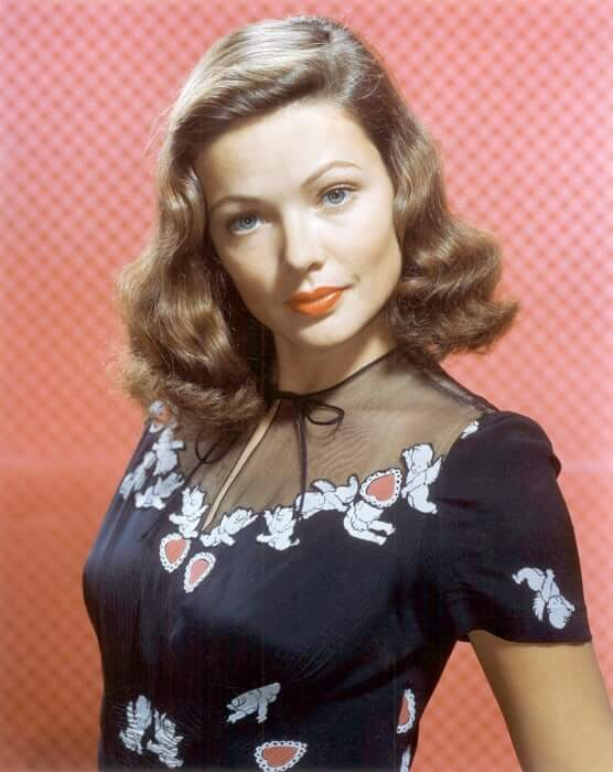 Gene Tierney sexy pictures (1)