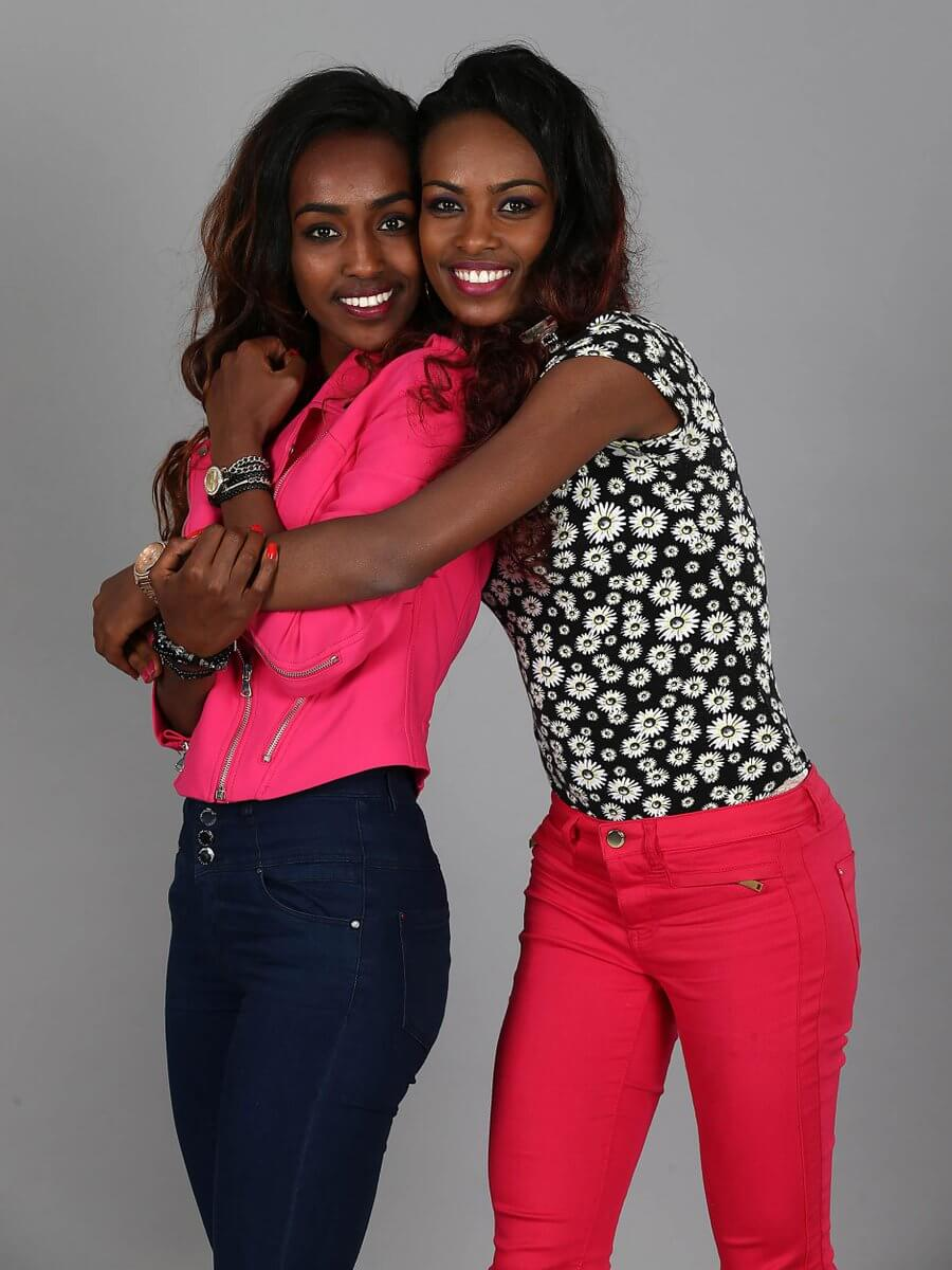 Genzebe Dibaba adorable