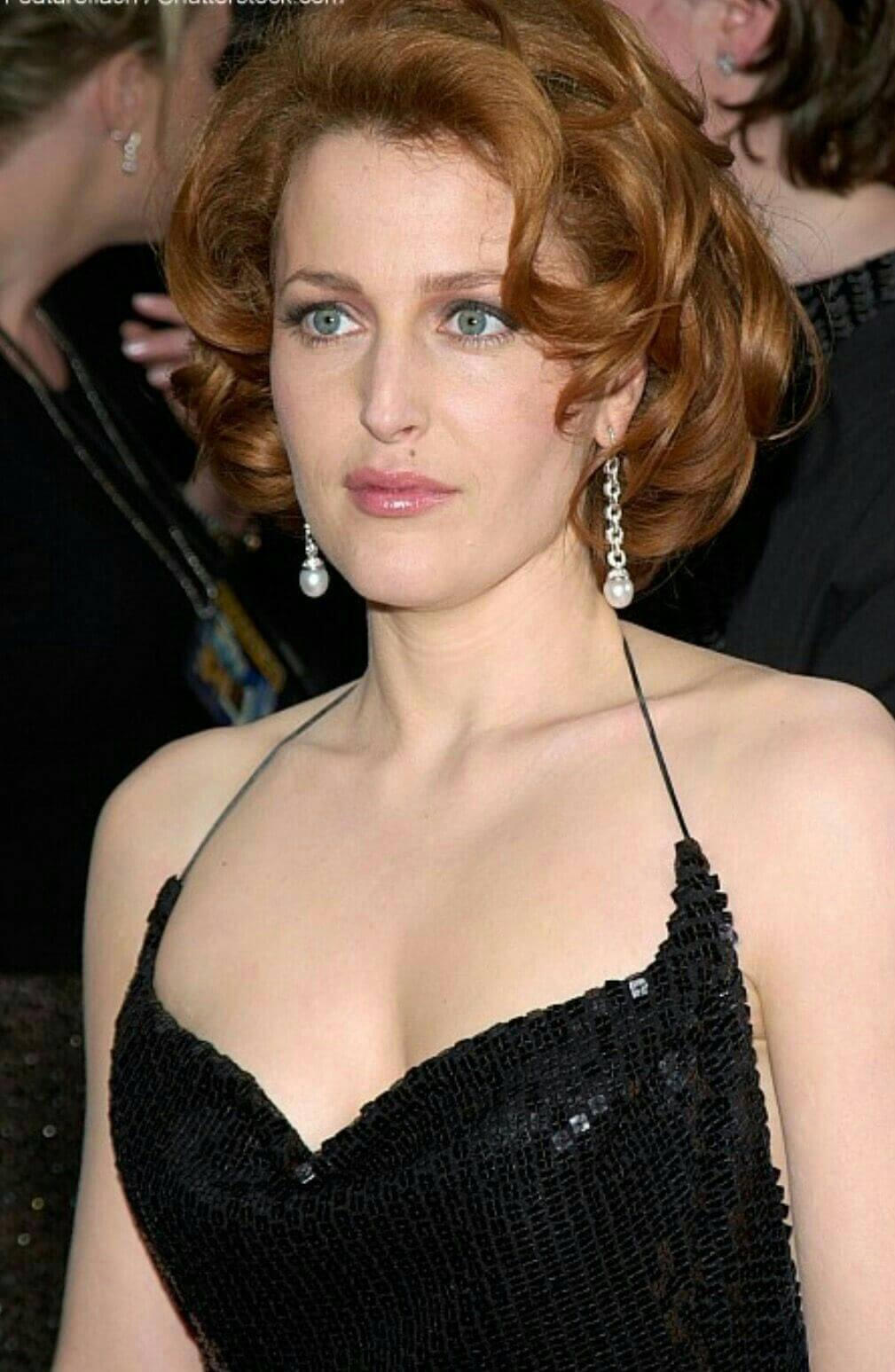 Gillian Anderson hot boobs pics (10)
