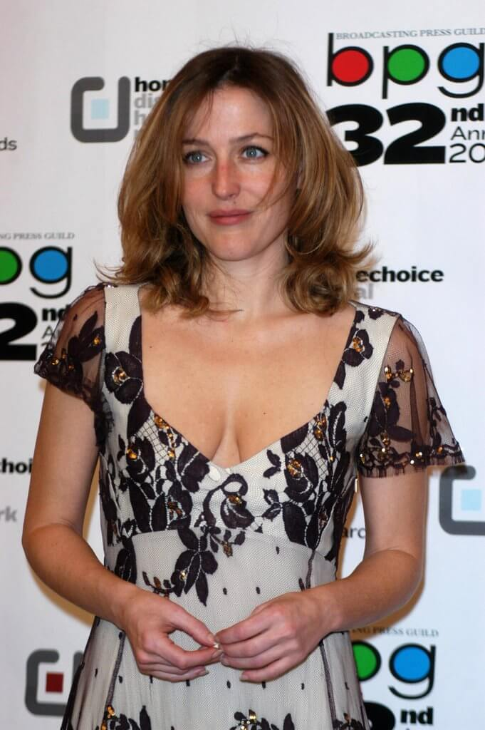 Gillian Anderson hot boobs pics (6)
