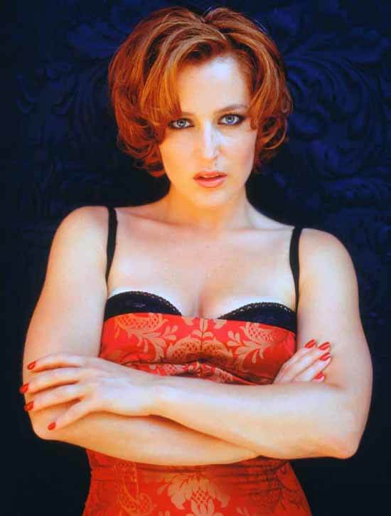 Gillian Anderson hot busty pics (2)