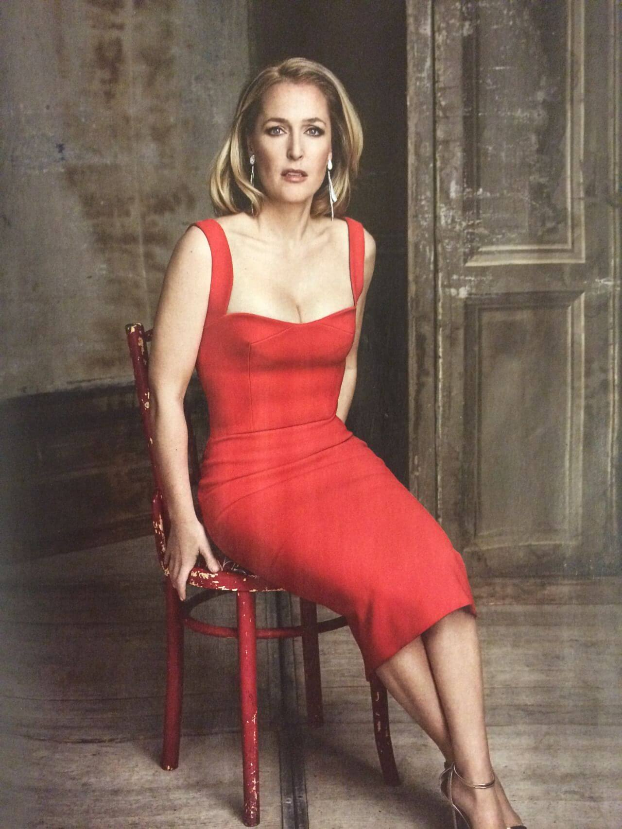Gillian Anderson sexy boobs pics (5)