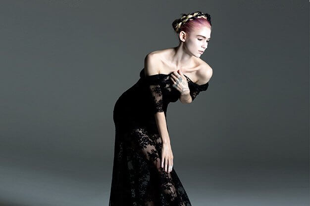 Grimes sexy busty pics