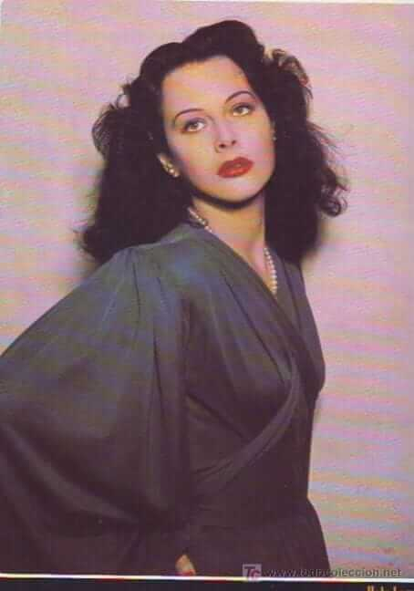 Hedy Lamarr sexy side pics