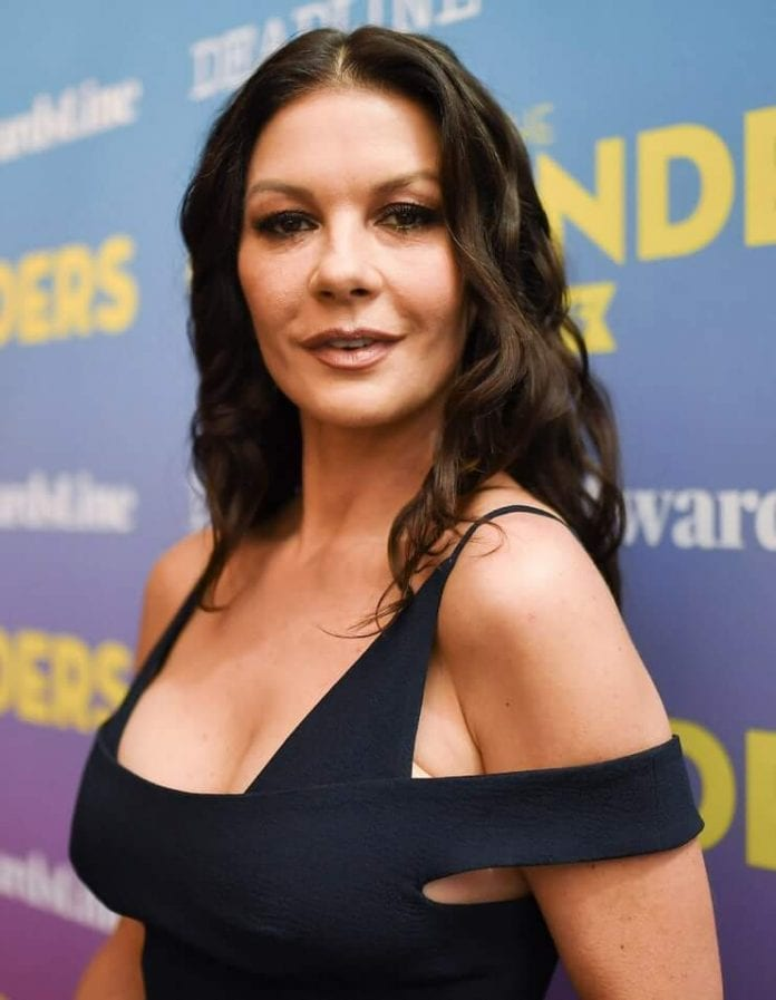 61 Sexy Catherine Zeta-Jones Boobs Pictures Will Make You Want To Play With Them-7886