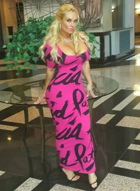 coco austin sexy long dress pic