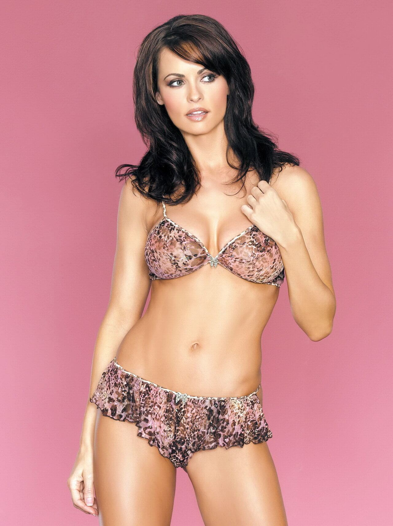 karen mcdougal hot lingerie pic