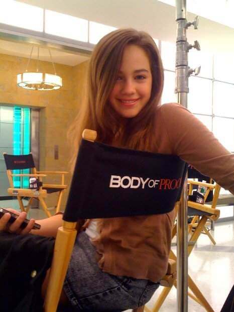mary mouser hot smile