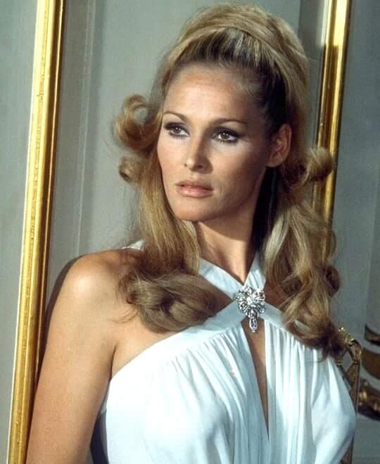 ursula-andress sexy white dress