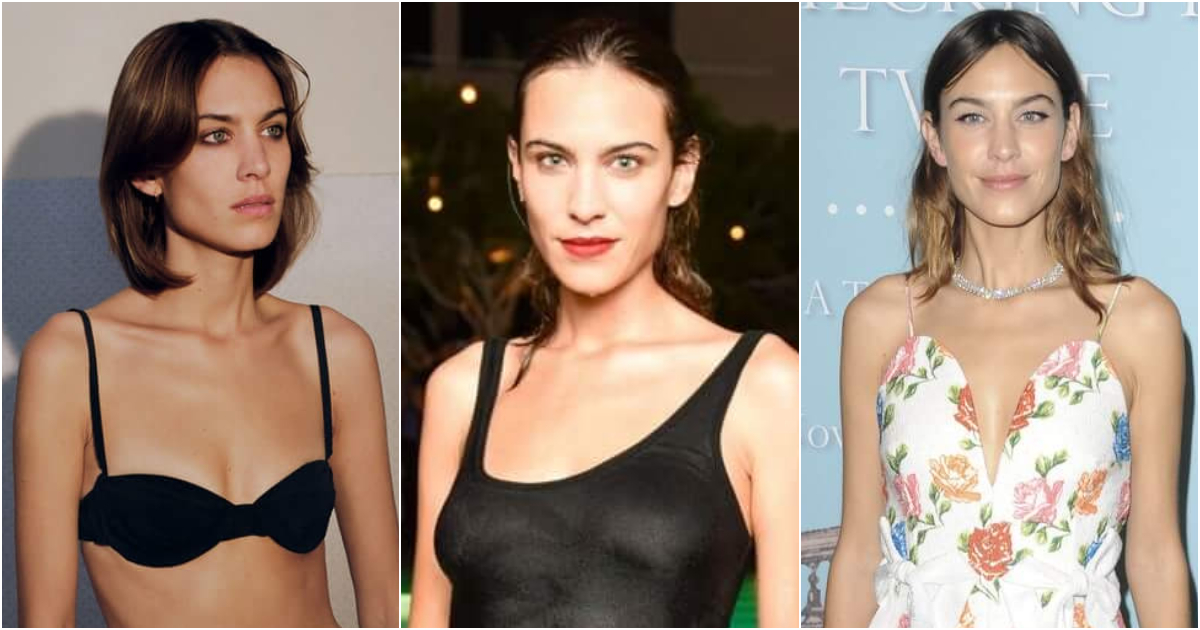 49 Hot Pictures Of Alexa Chung Proves She Has Best Body In The World