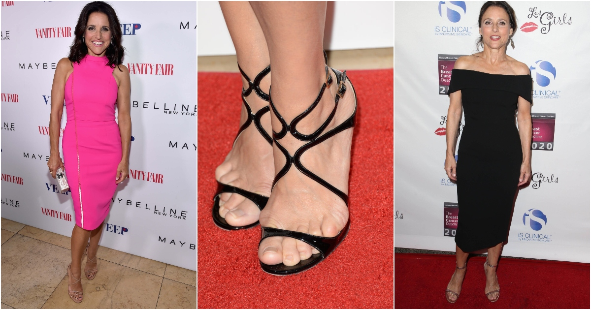 49 Sexy Julia Louis Dreyfus Feet Pictures Will Prove That She Is