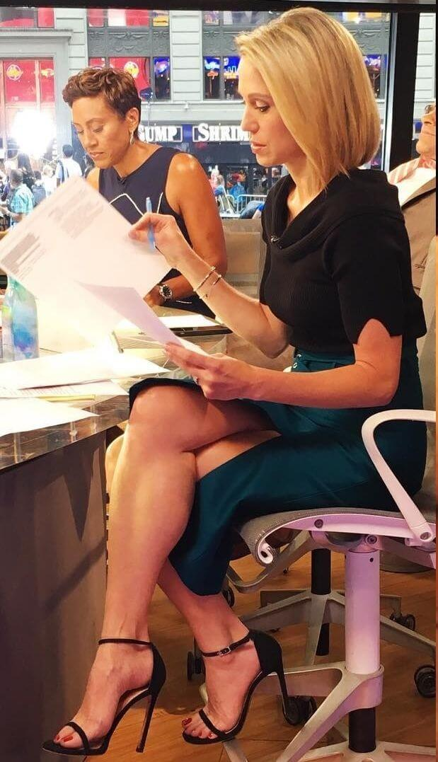 Amy Robach hot feet