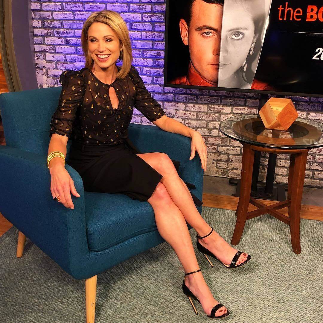 Amy Robach sexy toe feet (2)