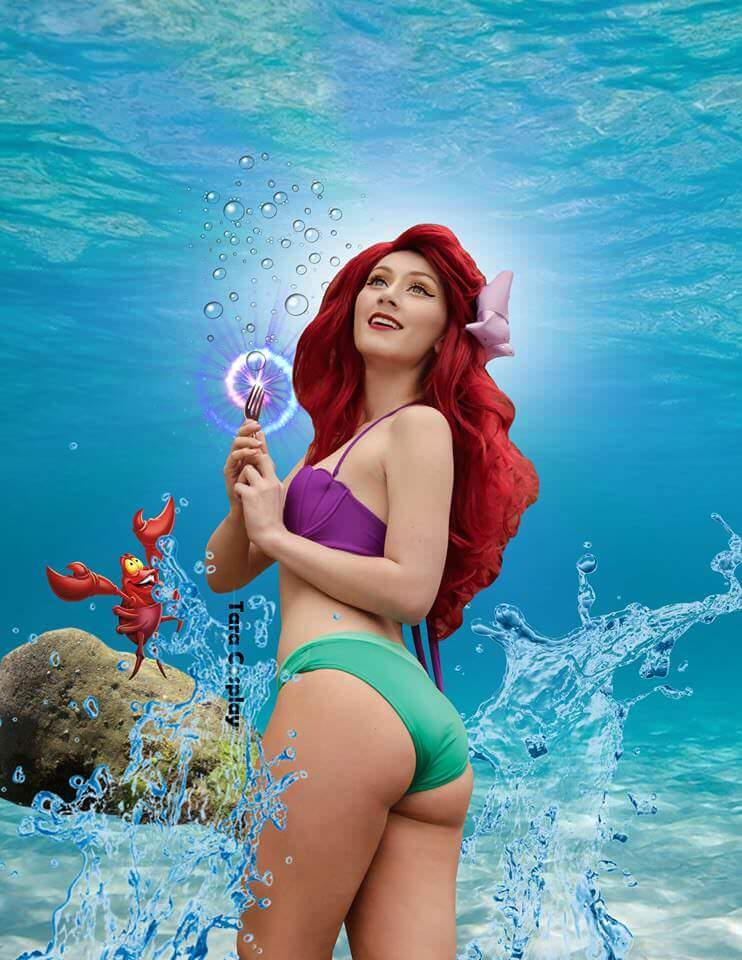 Ariel sexy booty