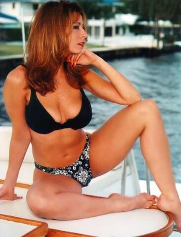 Christy Canyon bikini