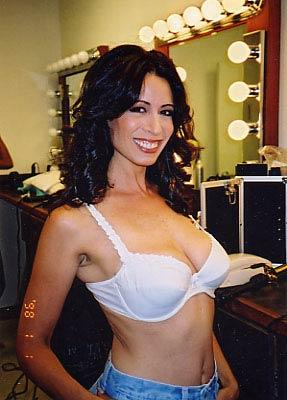 Christy Canyon bra size