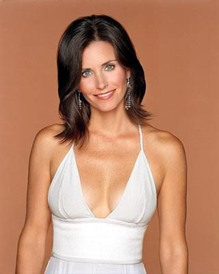 Courteney Cox sexy boobs pic