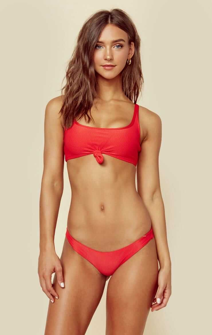 Rachel Cook hot red bikini picture