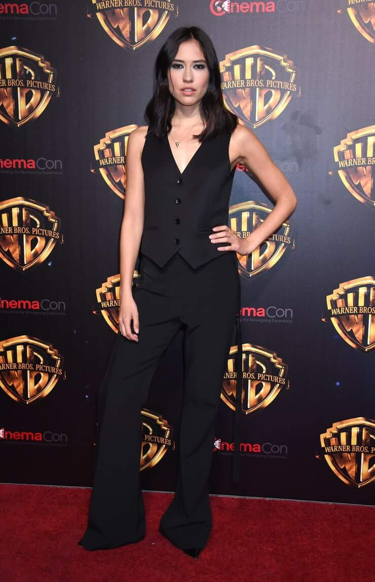 Sonoya Mizuno hot black dress pic