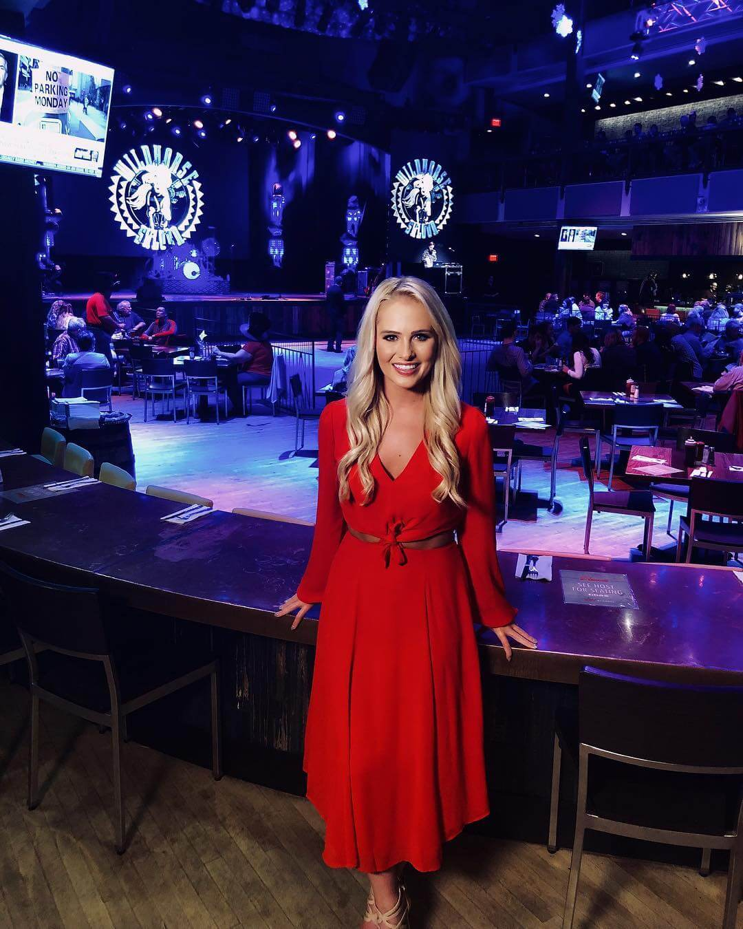Tomi Lahren hot red dress pics