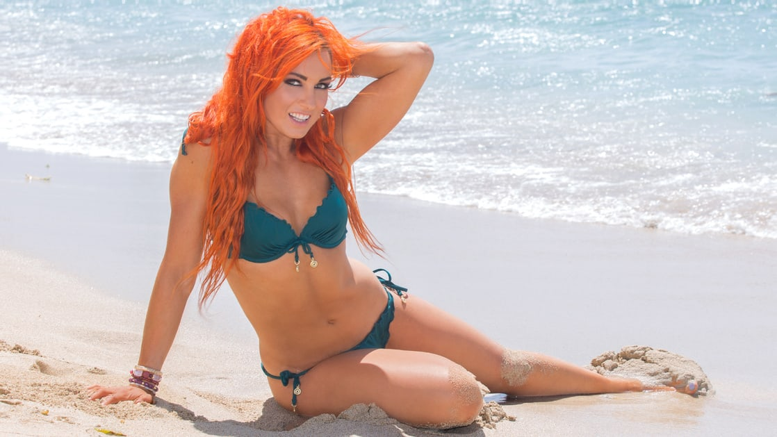 becky lynch Sexy Feet in high heels