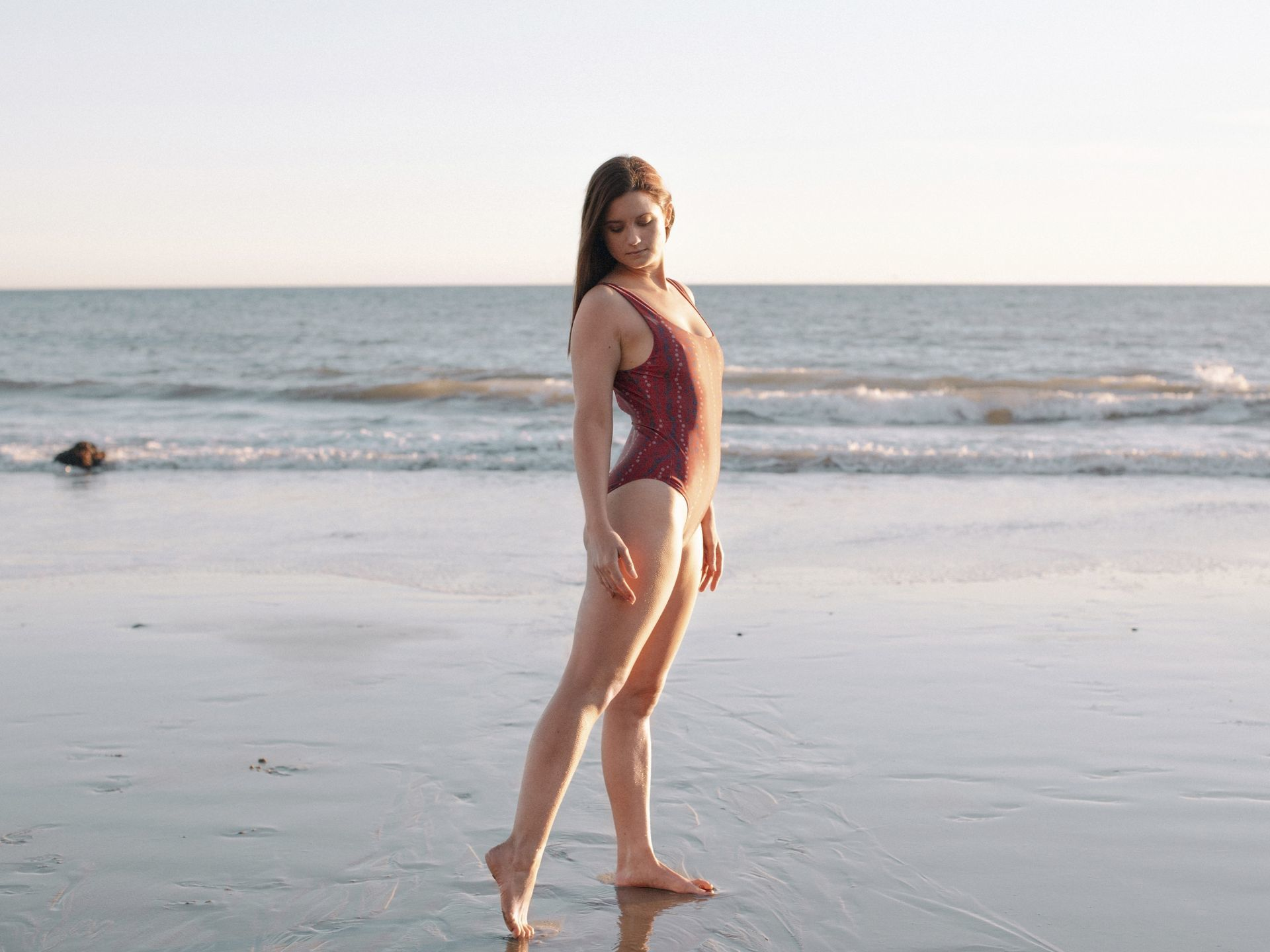 bonnie wright swimsuit