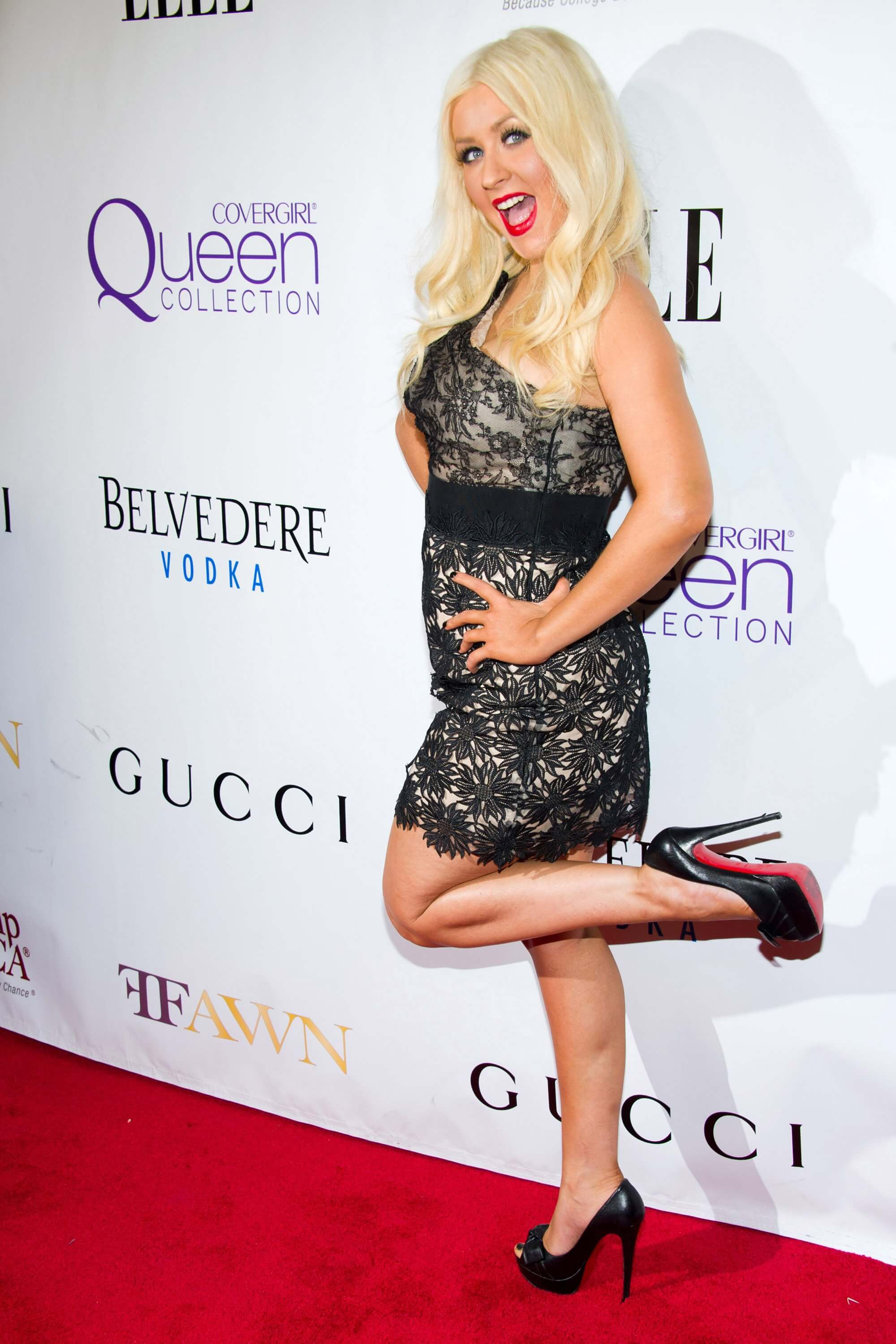 christina aguilera Sexy Feet in high heels