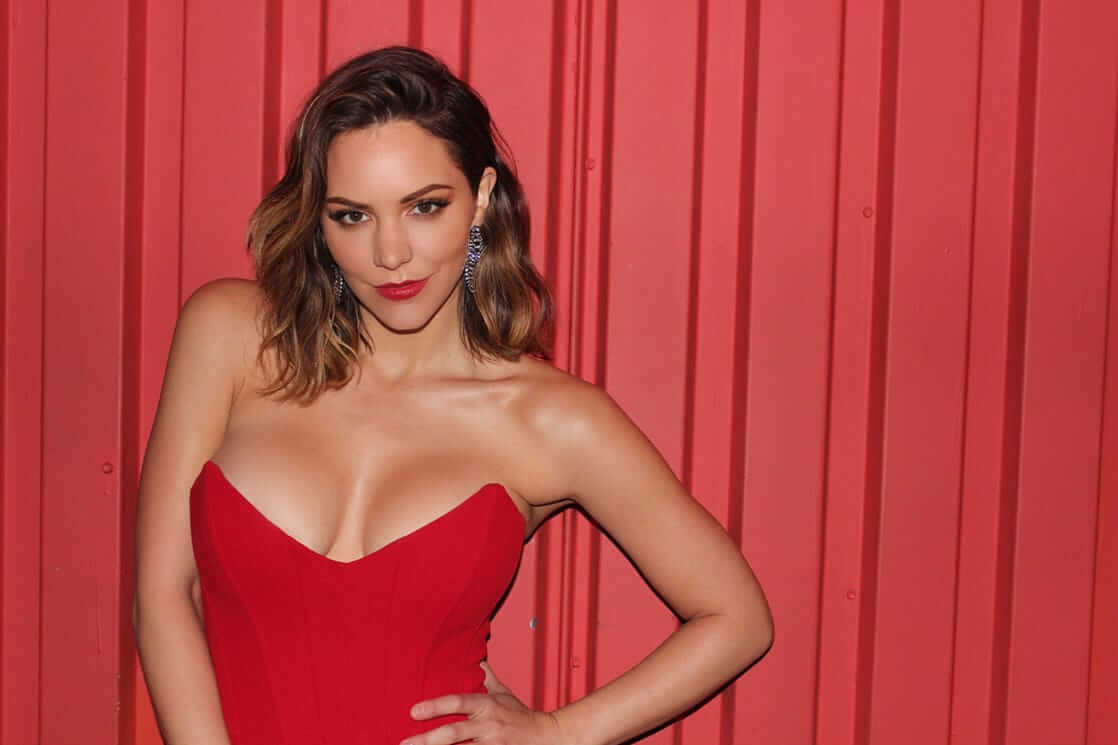 katharine mcphee hot cleavage