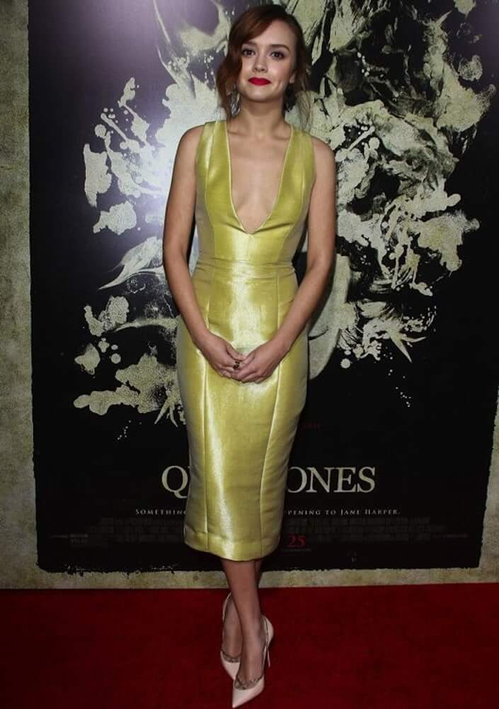 olivia cooke boobs