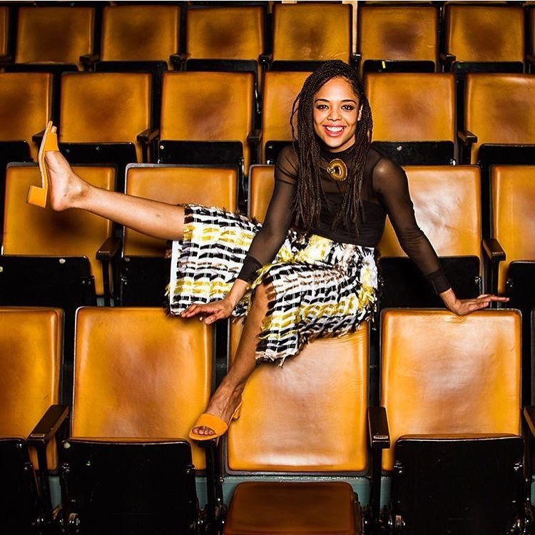tessa thompson beautiful feet image