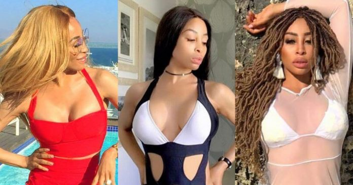 49 Hot Pictures of Khanyi Mbau Will Make You Believe She Is A Goddess